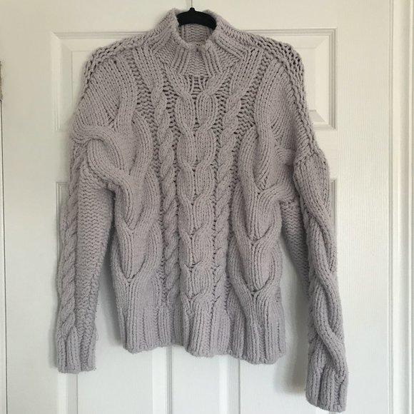 Zara Oversized Chunky Knit Sweater